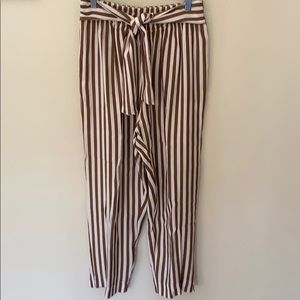 Stripped pants, from Italy